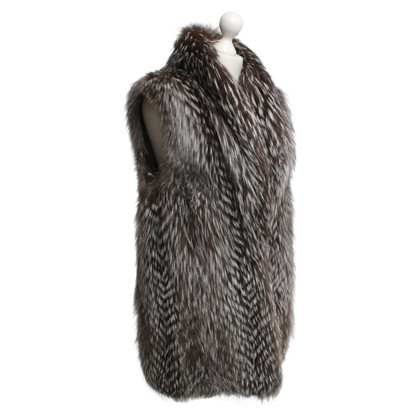 CPL Vest made of real fur