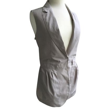 Brunello Cucinelli Vest met zijde inhoud