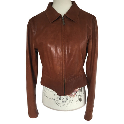 Gant Leather Jacket lamsvel