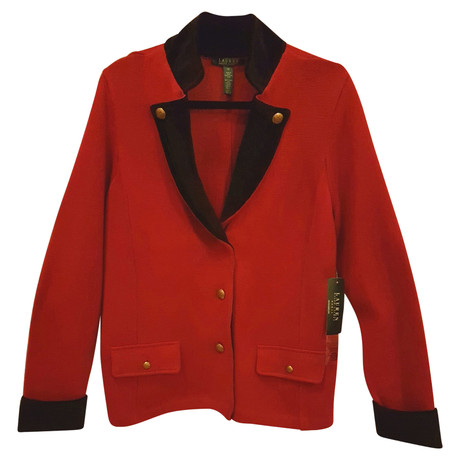 Ralph Lauren Strickjacke in Rot Rot