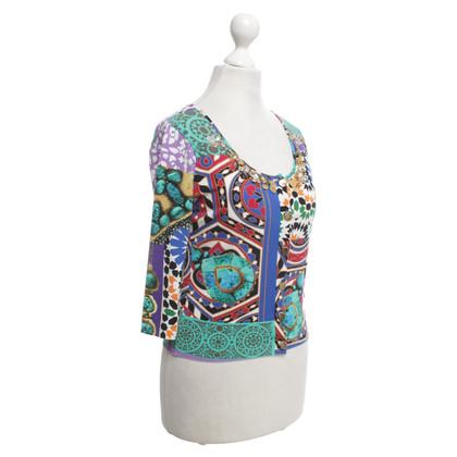 Blumarine Jacket with pattern mix