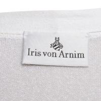Iris von Arnim Cardigan in white