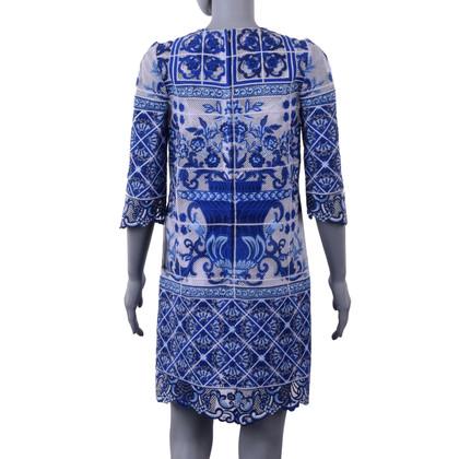 Dolce & Gabbana Dress with majolica print
