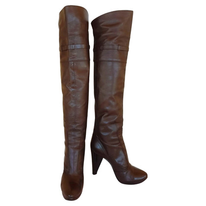 Costume National bottes de genou