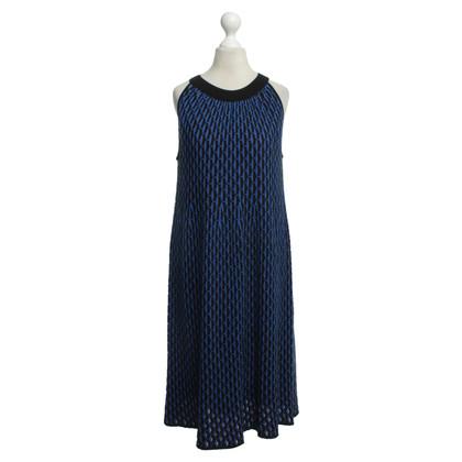 Missoni Knit dress in blue/red