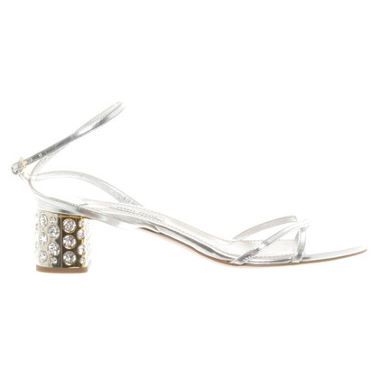 Miu Miu Sandals with Rhinestones
