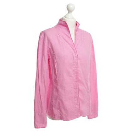 Van Laack Katoenen blouse roze