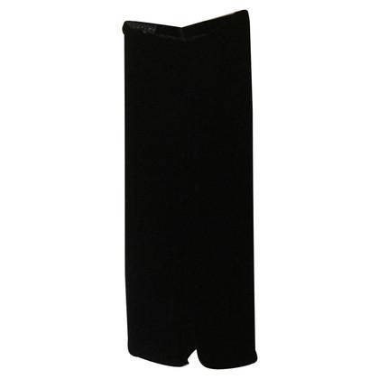 Ralph Lauren Pants zwart fluweel RALPH