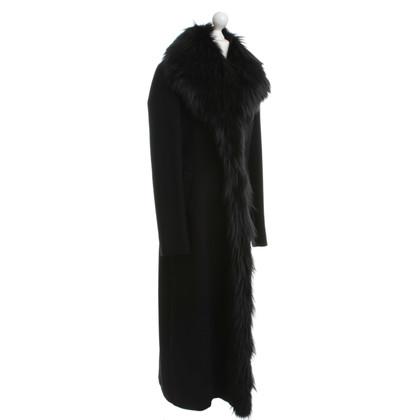 Jil Sander Coat with real fur