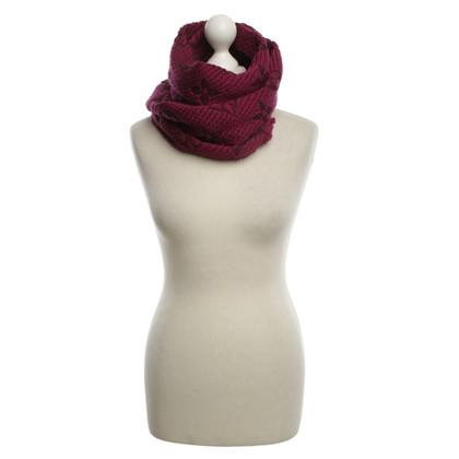 """Louis Vuitton """"Logomania sjaal"""" in Fuchsia"""
