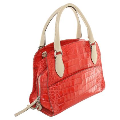 St. Emile Handbag in red