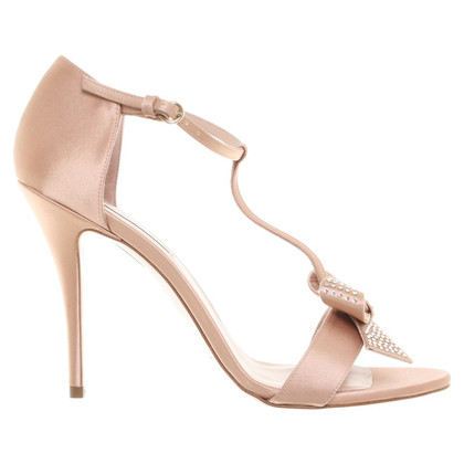 Pura Lopez Sandals in Nude