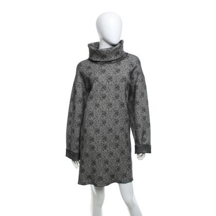 Alaïa Coat in black and white