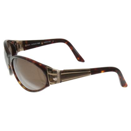 Ferre Sonnenbrille mit Schildpatt-Muster