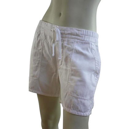 James Perse Shorts in Weiß