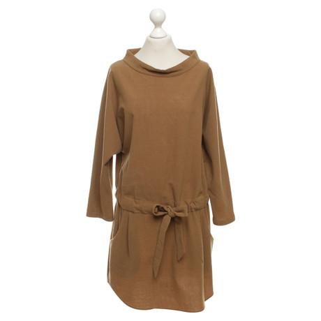 Kleid Kleid Hellbraun Hache in in Braun Hellbraun Braun Hache Fg1Xxq