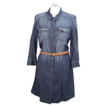 Calvin Klein Denim dress in dark blue