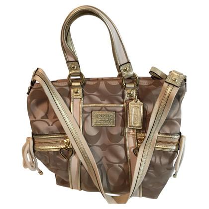Coach Goldfarbene Handtasche