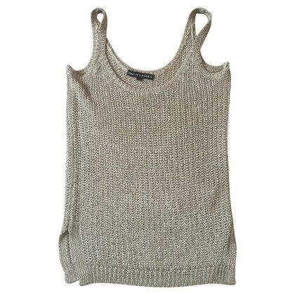 Ralph Lauren Black Label Gold-colored knit top