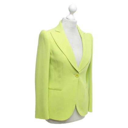 Moschino Blazer in neon groen