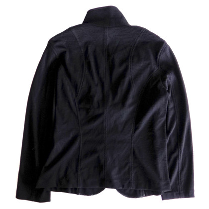 Marc Cain Perforato Blazer in Black