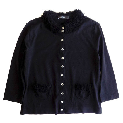 Marc Cain Viscose cardigan in black