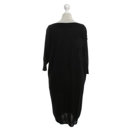 Balenciaga vestito maglia in nero