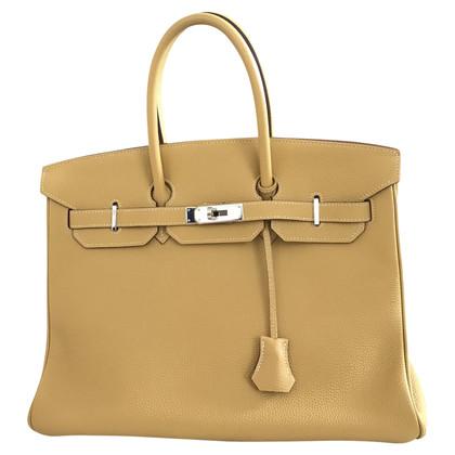 "Hermès ""Birkin Bag 35 Togo Leather Curry"""