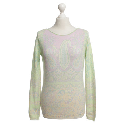 Etro Pullover mit floralem Muster