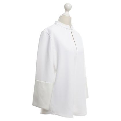 Balenciaga Bluse in Weiß