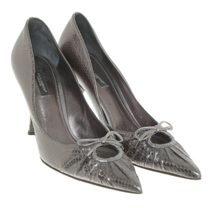 Dolce & Gabbana Silver colored pumps