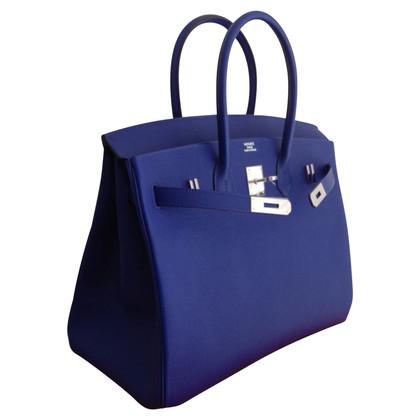 """Hermès """"Birkin Bag 35 Electric Blue"""""""