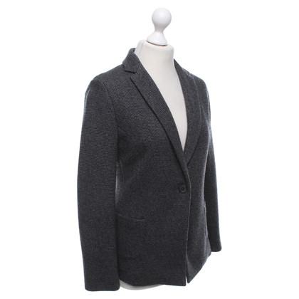 Fabiana Filippi giacca a maglia in grigio