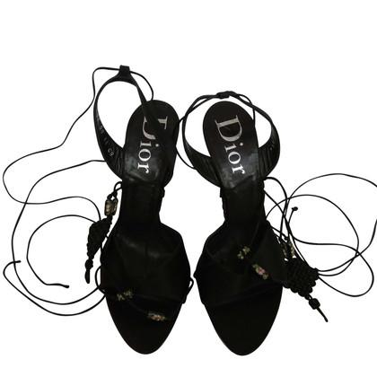Christian Dior Sandali in nero