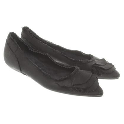 Pedro Garcia Ballerina's in zwart