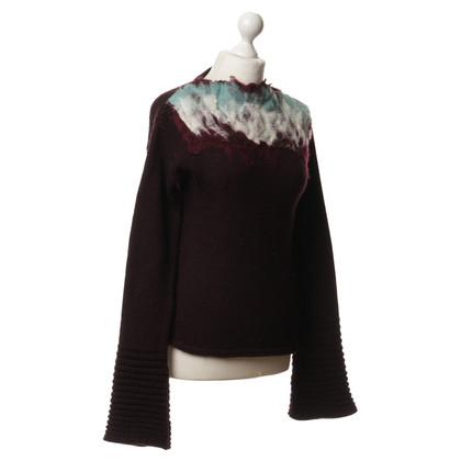Just Cavalli Sweater in Bordeaux