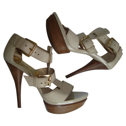 Michael Kors High Heels in Beige