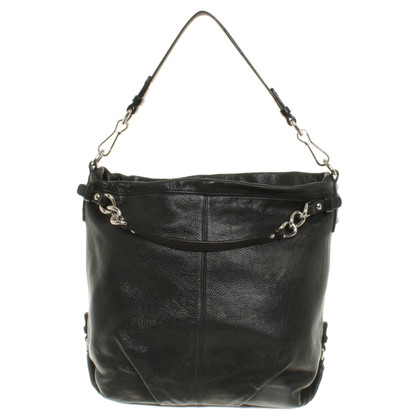 Coach Leather Handbag in Black