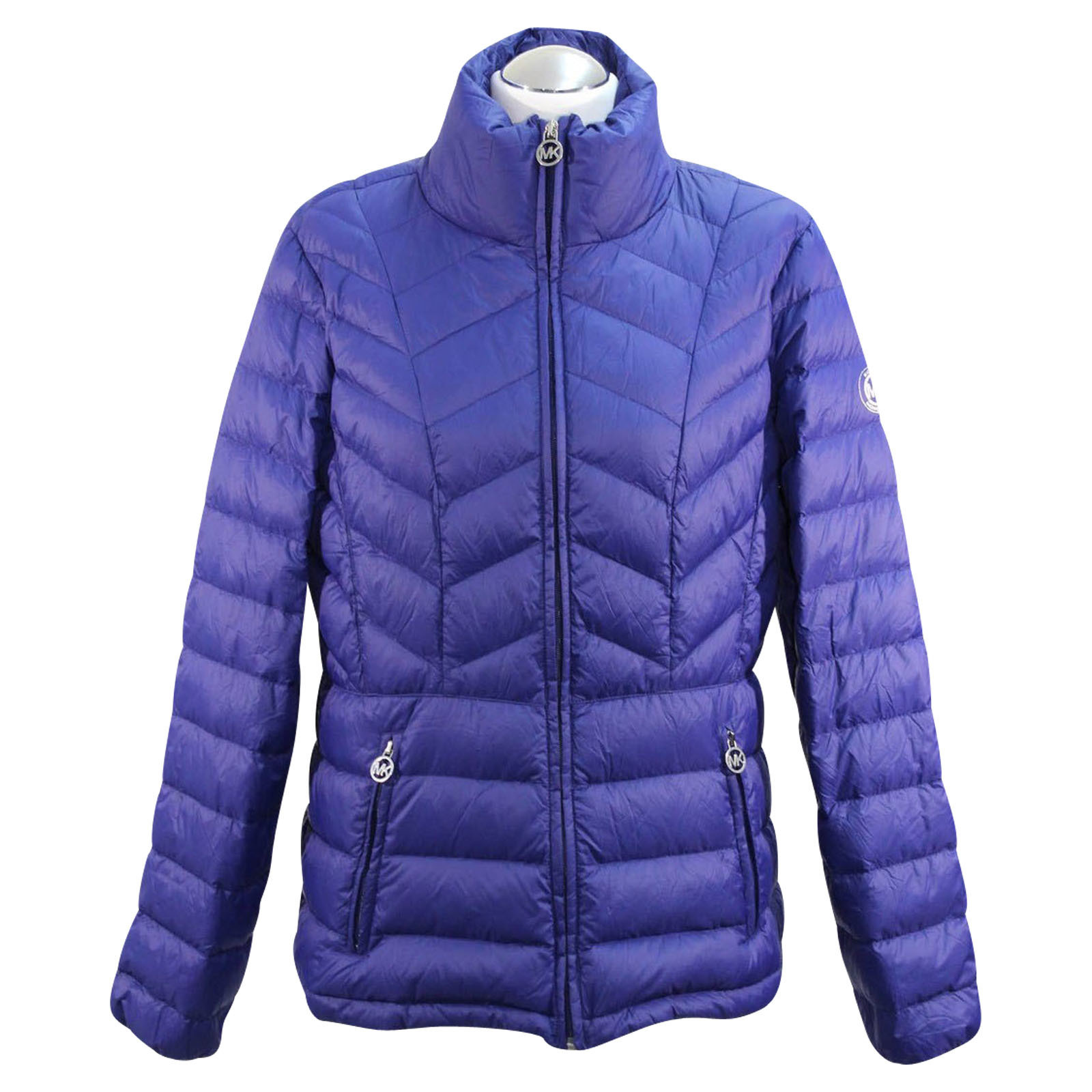 Michael Kors Daunenjacke in Blau Second Hand Michael Kors