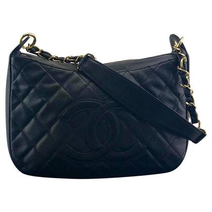 Chanel Schoudertas in zwart