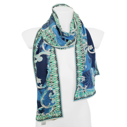 Emilio Pucci Multicolor silk scarf
