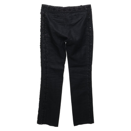 Yves Saint Laurent trousers with lacing element