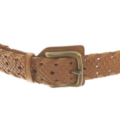 Chloé Python leather belt