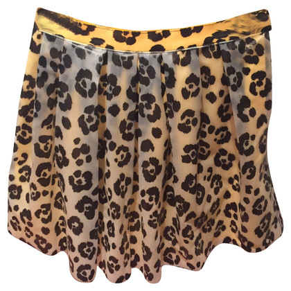 Moschino skirt with animal print