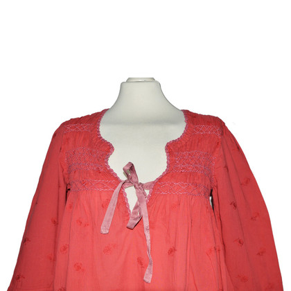 Odd Molly Tunic blouse in red