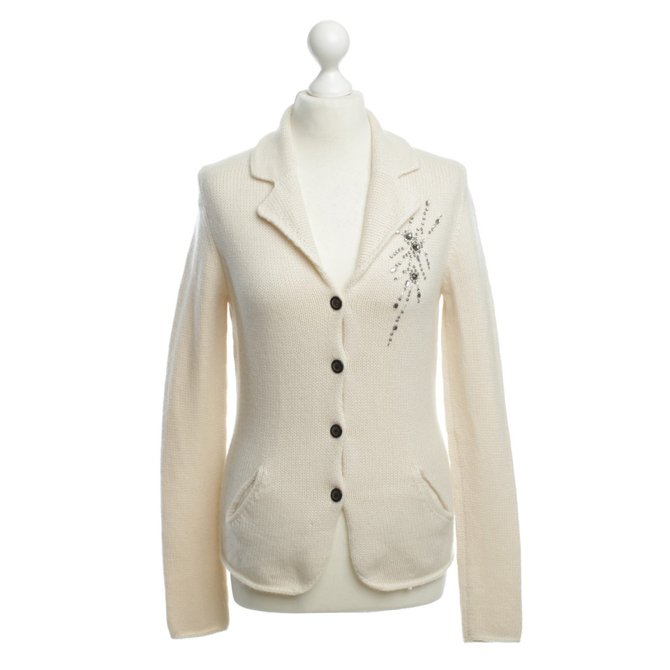 Joe Taft Cashmere jacket in cream