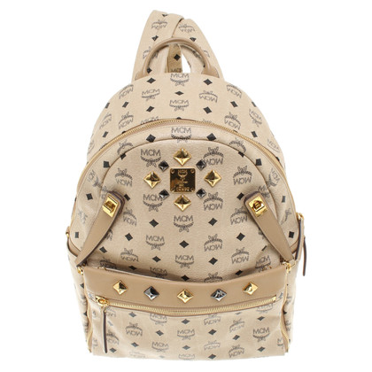 MCM Backpack in beige