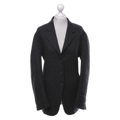 Prada Wollblazer in Grau