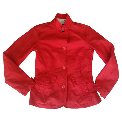 Woolrich Jacket Red Cotton