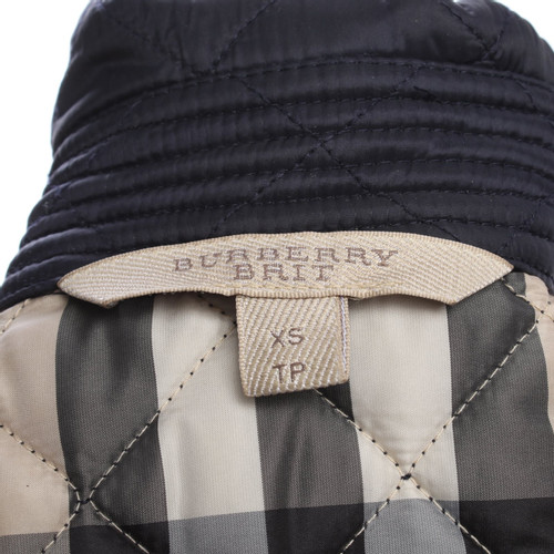cc074c41381 Burberry Jacket in dark blue - Second Hand Burberry Jacket in dark ...